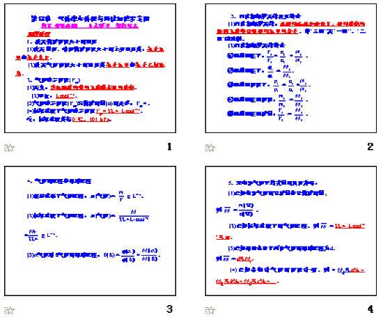 气体摩尔体积ppt_气体摩尔体积与阿伏加德罗定律ppt1 人教课标版