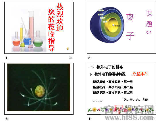 原子结构示意图,离子符号的